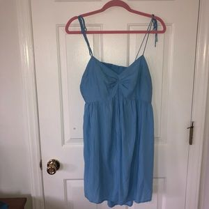 ASOS blue coverup dress